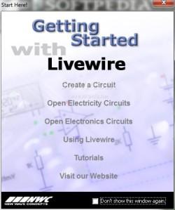 اول نسحة من برنامج circuit wizard Livewire-professional_2